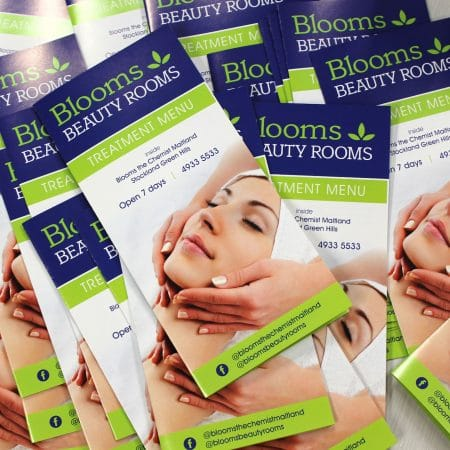blooms the chemist brochure by jennings print group