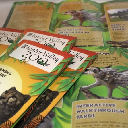 hunter valley brochure zoo by jennings print group