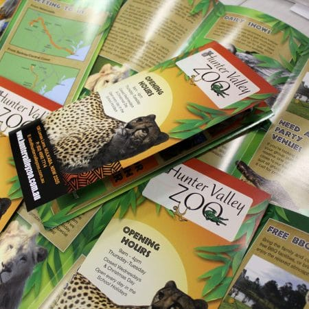 hunter valley zoo brochure by jennings print group