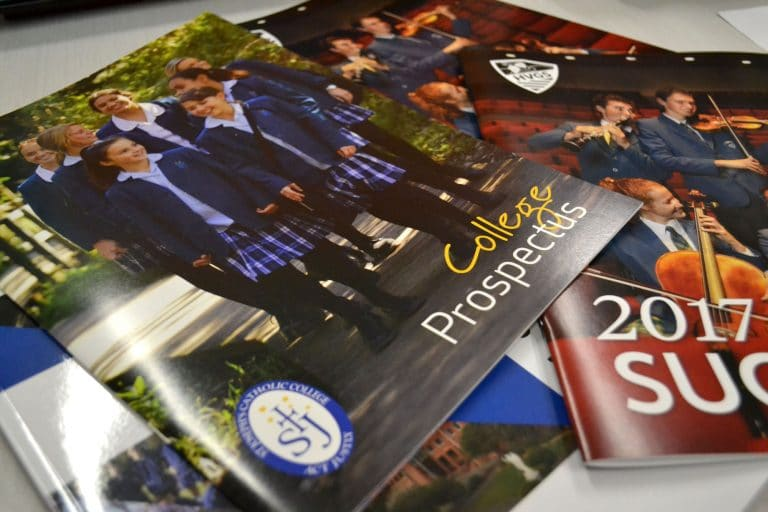 school brochures by jennings print group