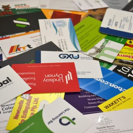 business card printing by jennings print group