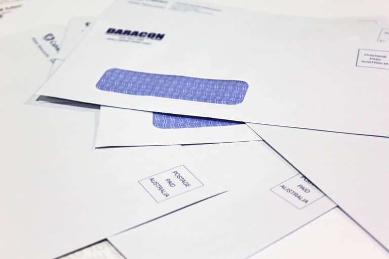 envelope printing by jennings print group