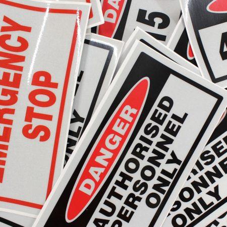 sticker printing by jennings print group
