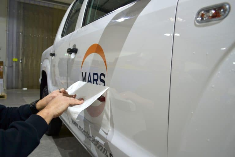 vehicle signage printing by jennings print group