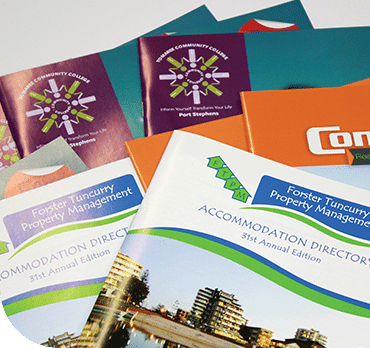 digital printing services, offset printing services - jennings print group booklet printing