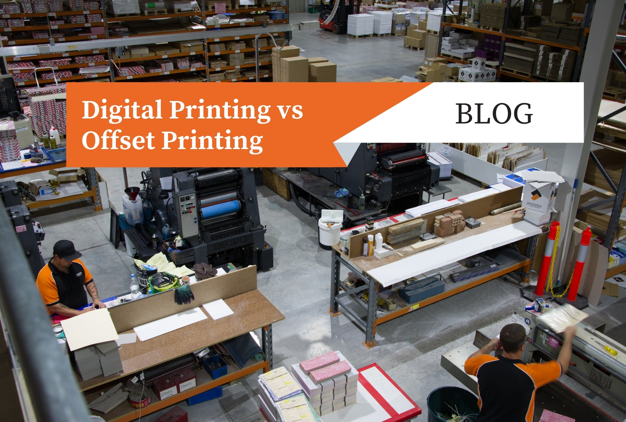 Digital Printing vs Offset Printing