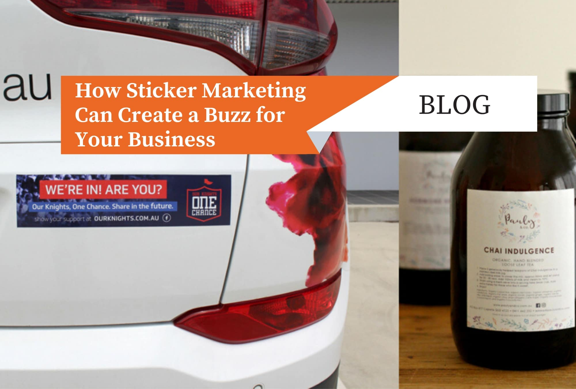 How Sticker Marketing Can Create a Buzz for Your Business