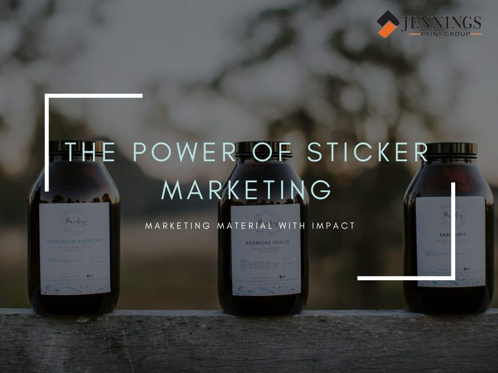 sticker marketing