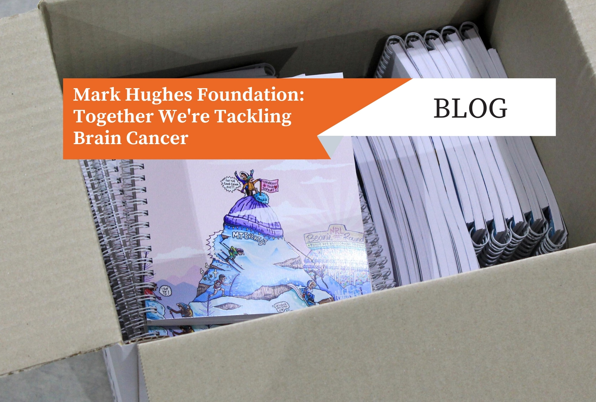 Mark Hughes Foundation: Together We're Tackling Brain Cancer