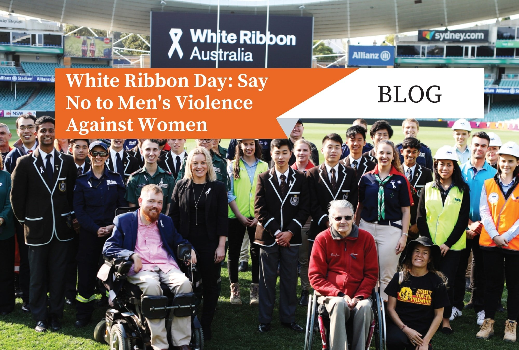 White Ribbon Day: Say No to Men's Violence Against Women