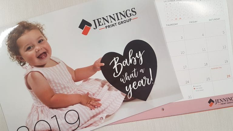 Jennings Print Christmas Closure