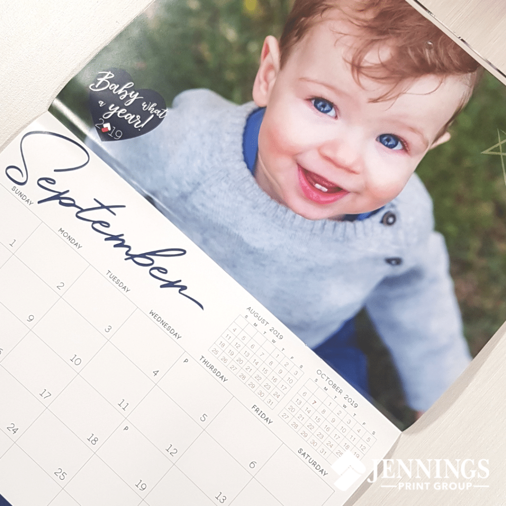 Baby What a Year: Jennings Print 2019 Calendars Out Now!