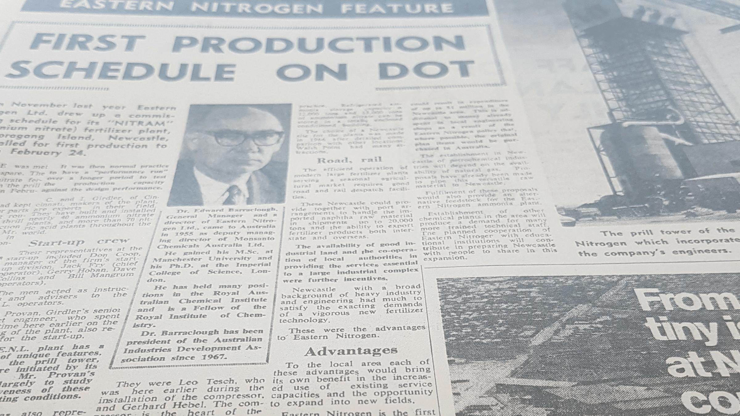 Kooragang Island: Celebrating 50 Years of Operation