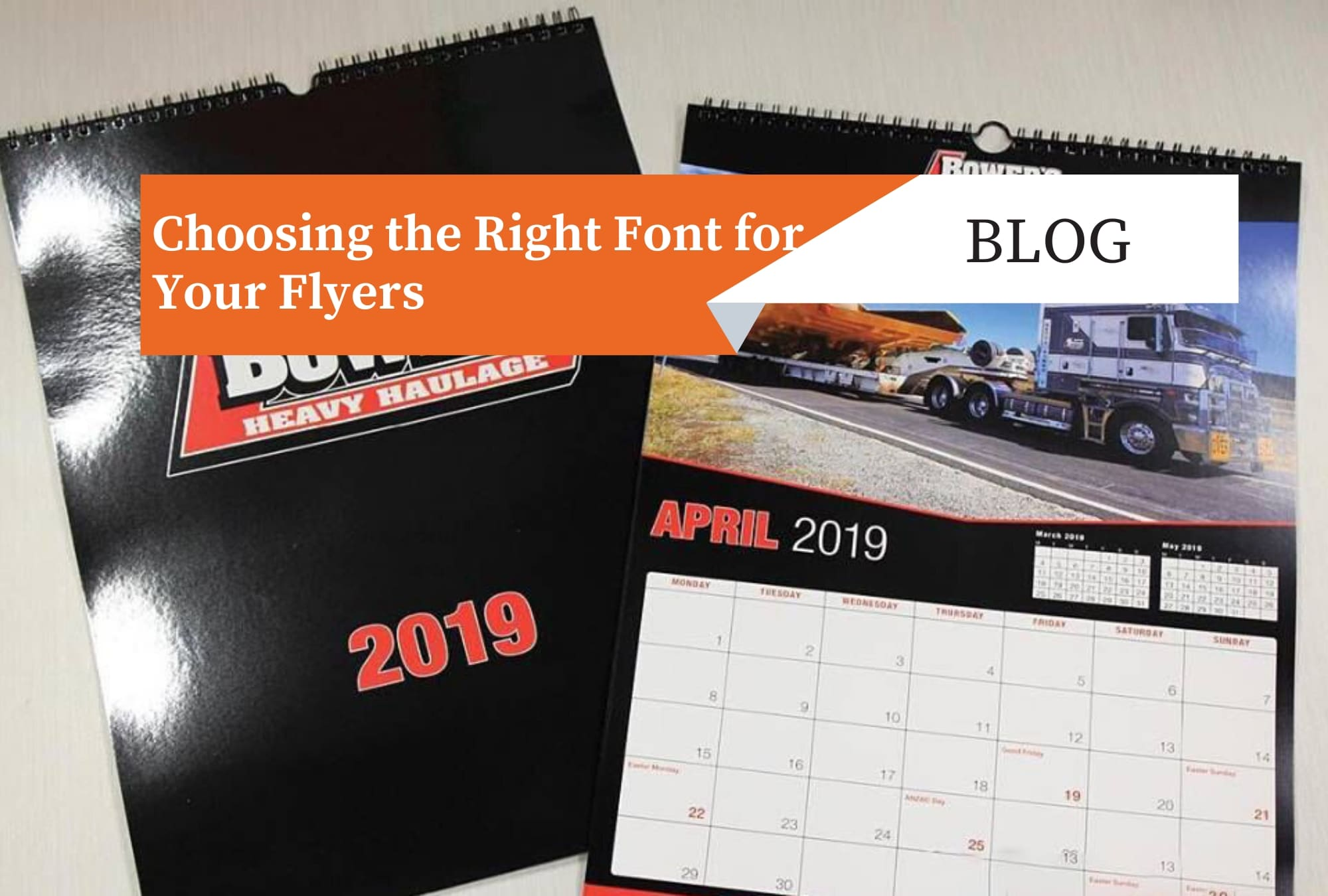 Choosing the Right Font for Your Flyers