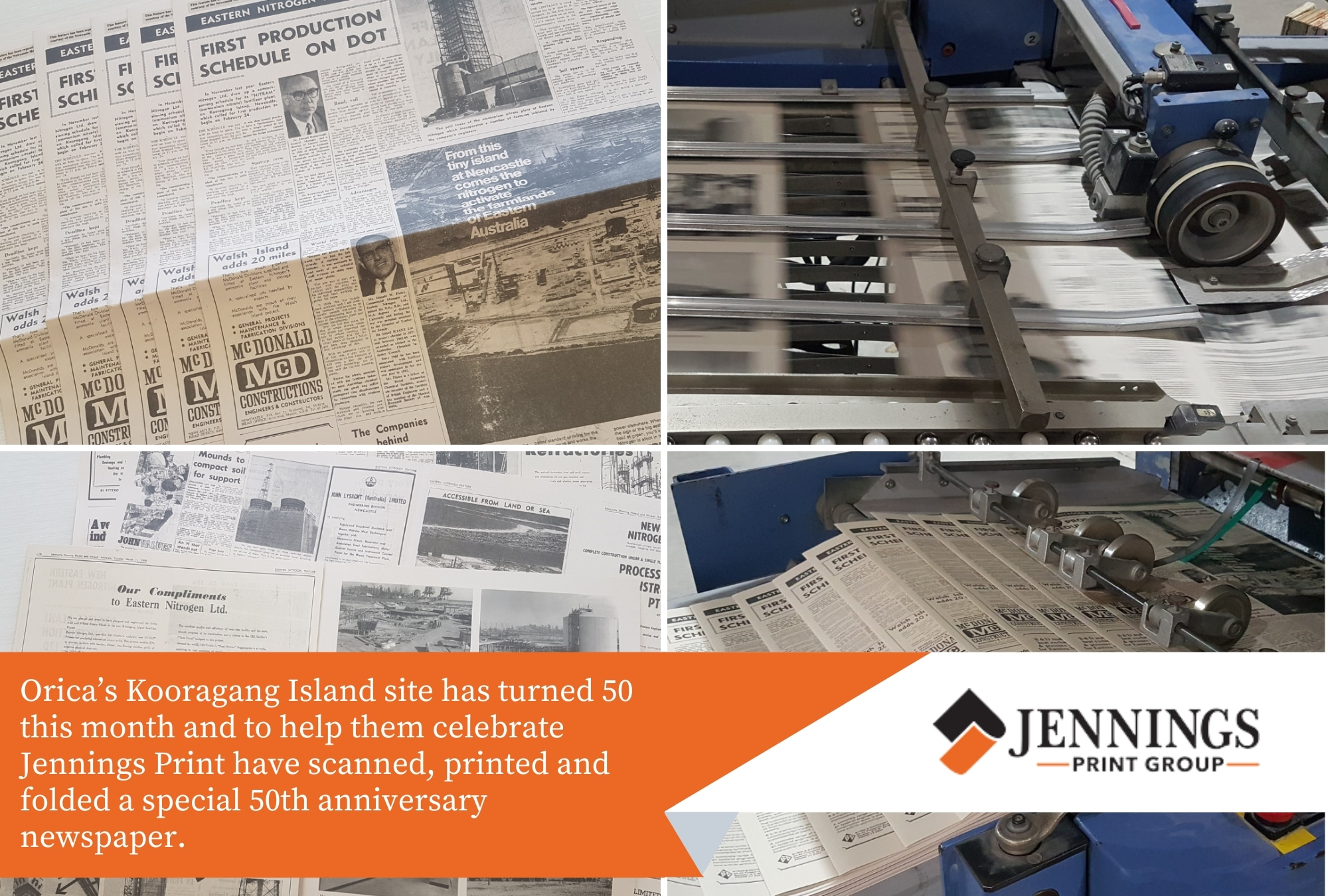 special 50th anniversary newspaper