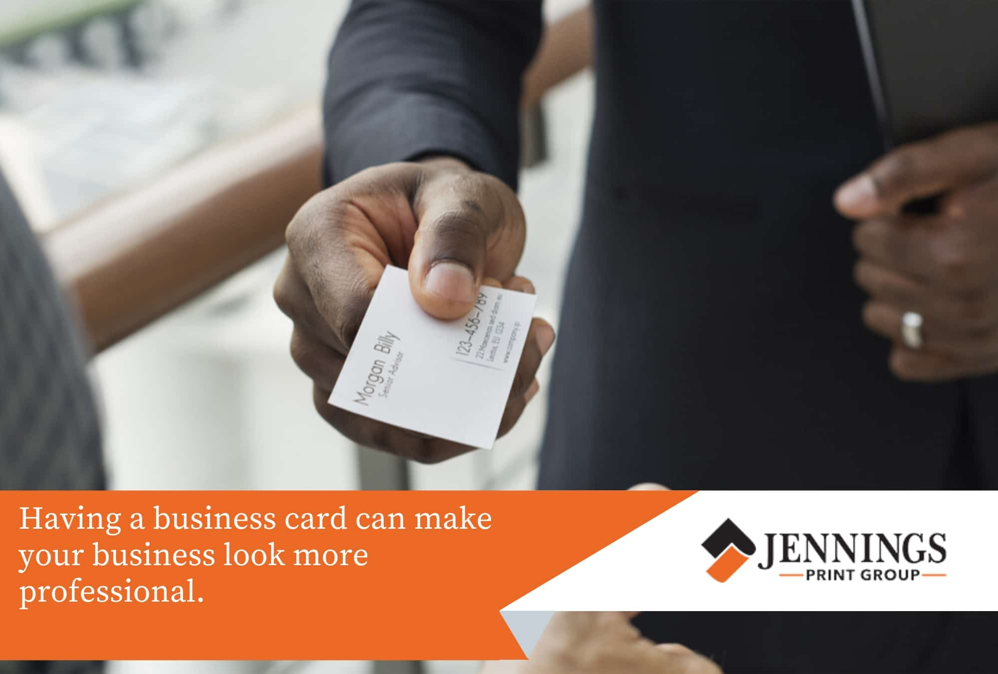 business cards make your business more professional