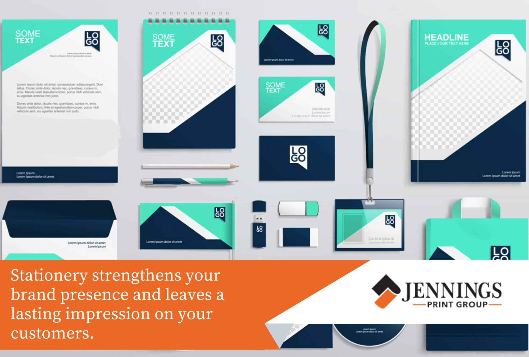 stationery strengthens your brand presence