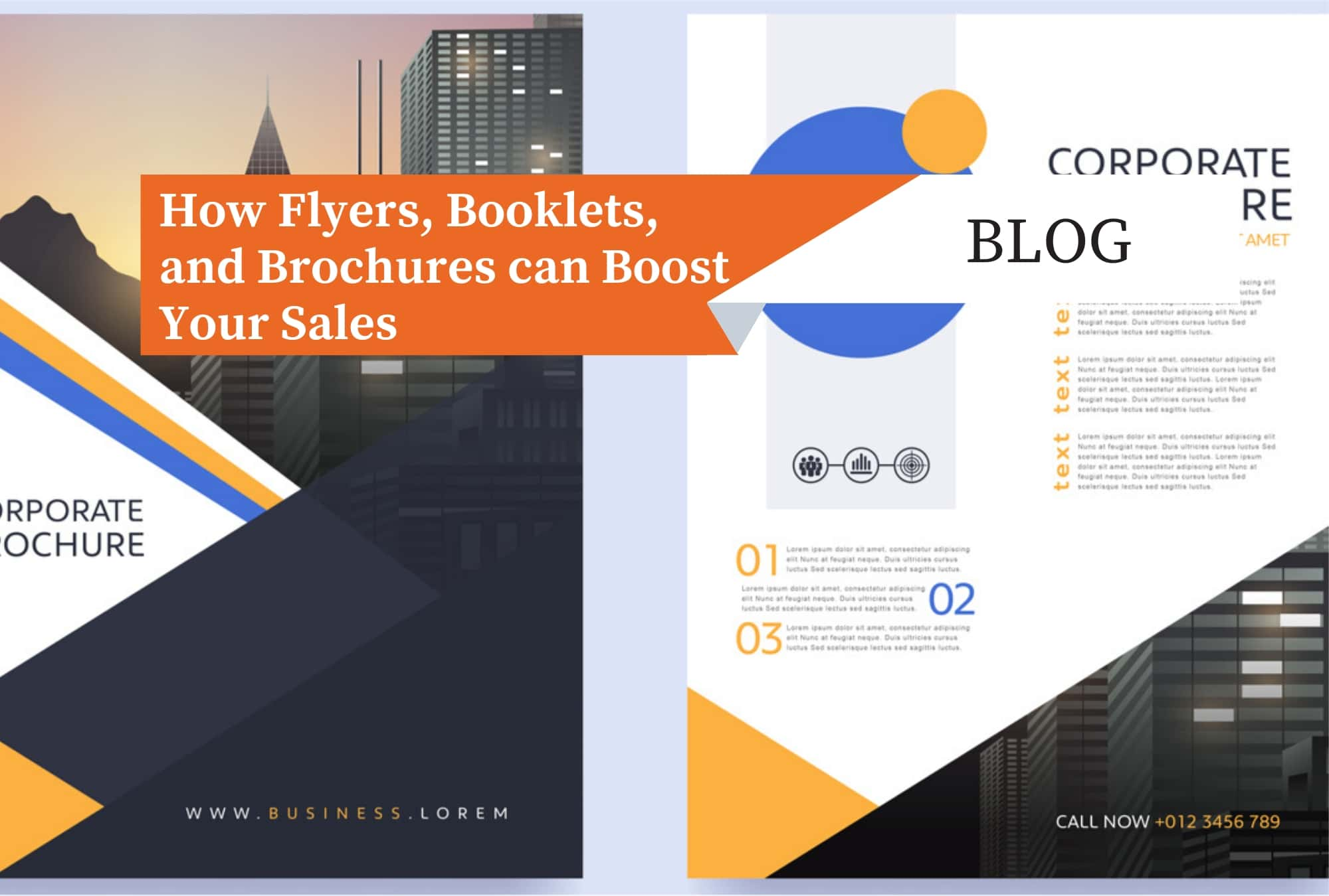 How Flyers, Booklets, and Brochures Can Boost Your Sales