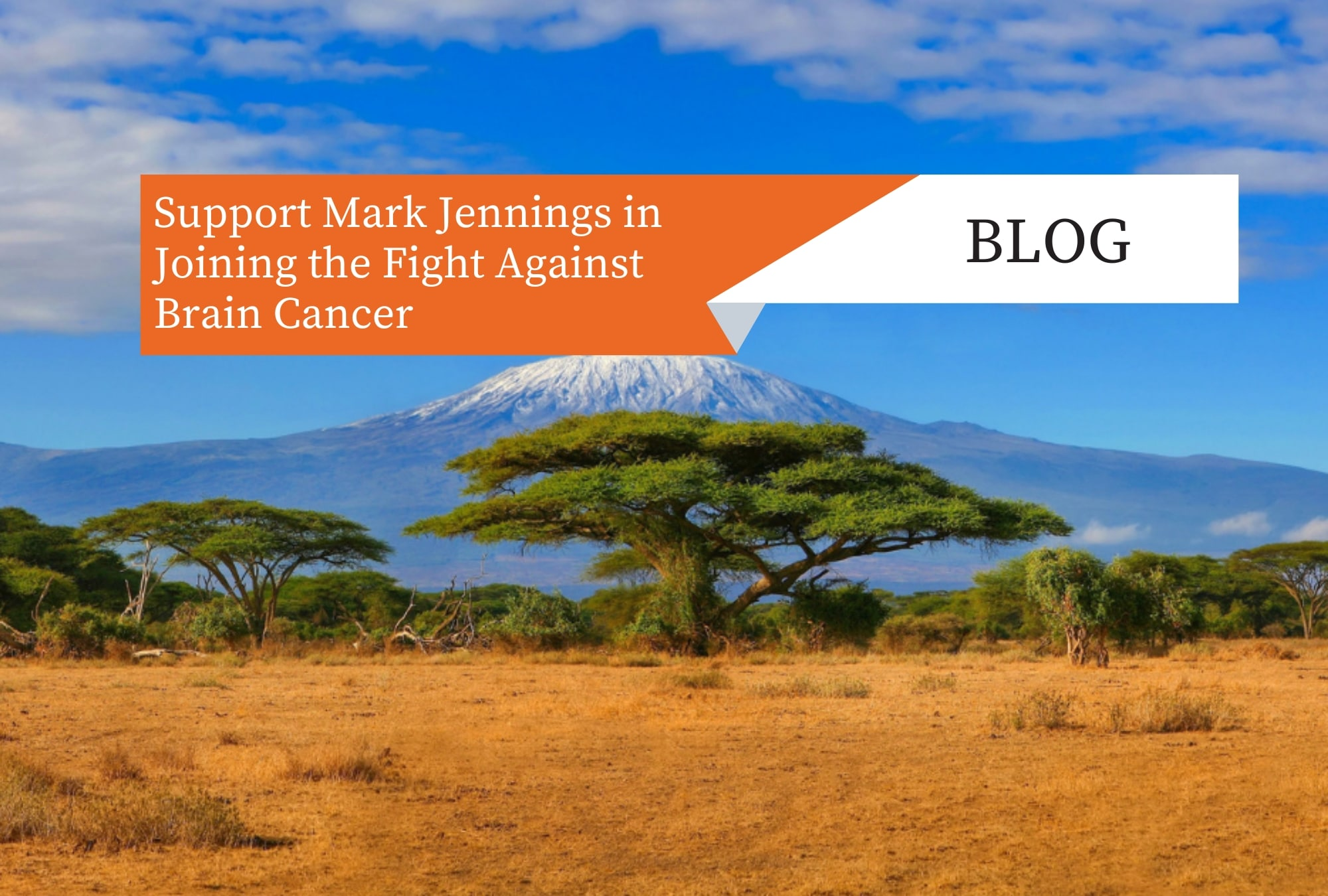 Support Mark Jennings in Joining the Fight Against Brain Cancer!