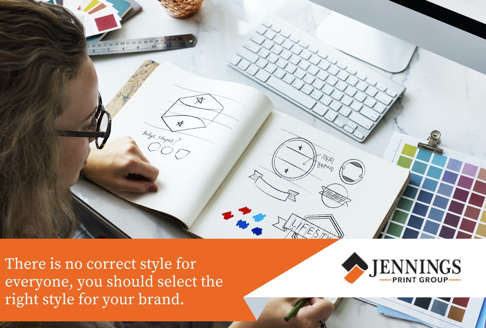 select the style for your brand