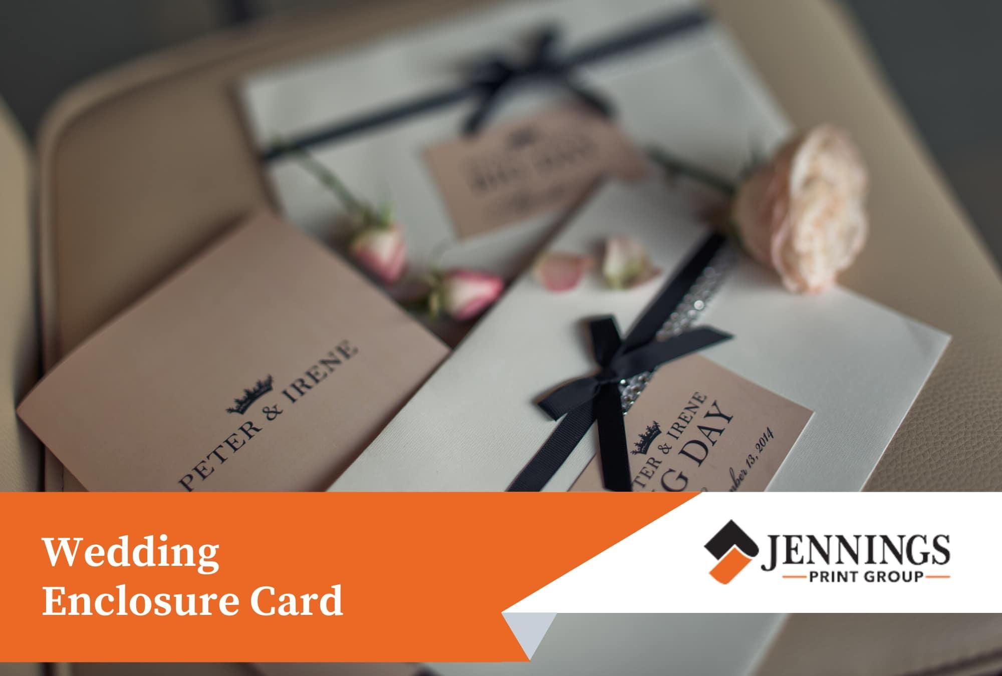 Wedding Enclosure Card