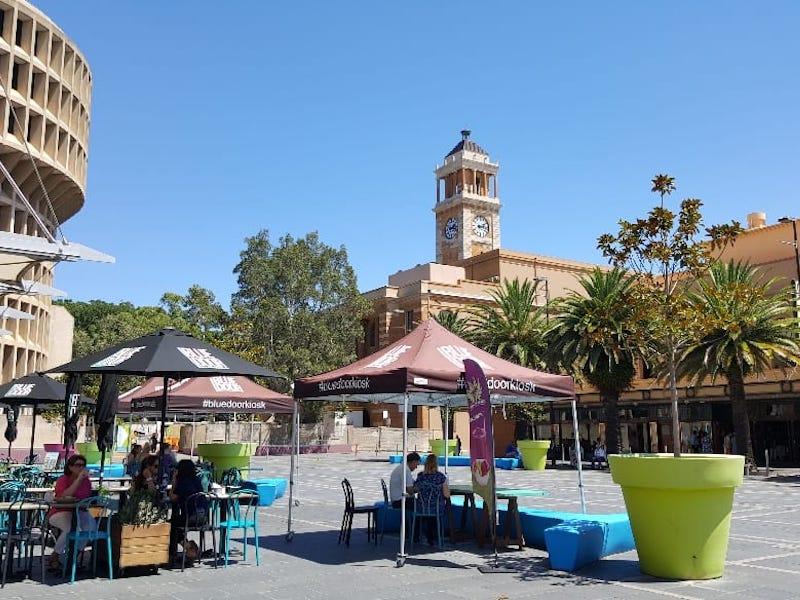Civic Square in Newcastle, NSW