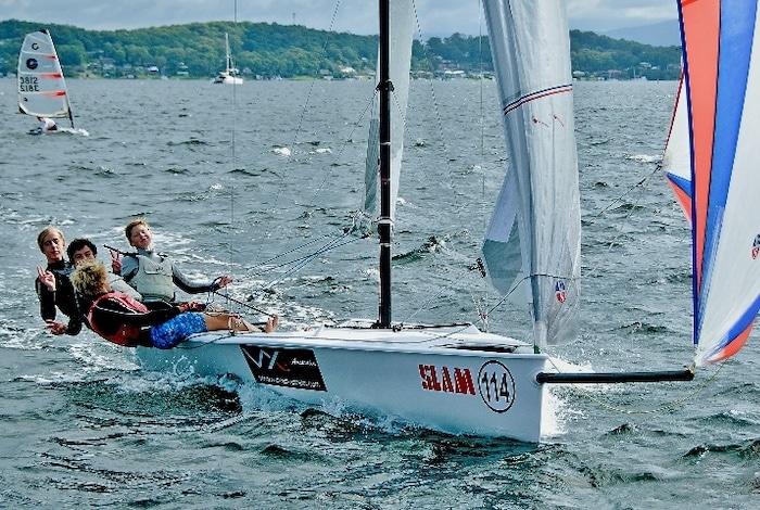 Sailing fun on Lake Macquarie