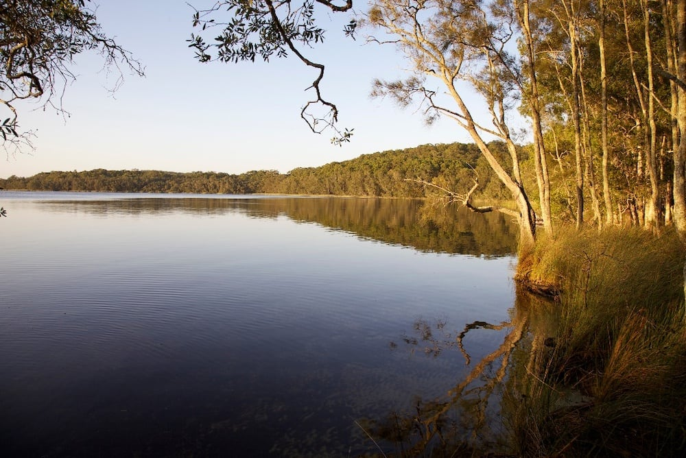 Glassy waterside afternoons in Myall lakes