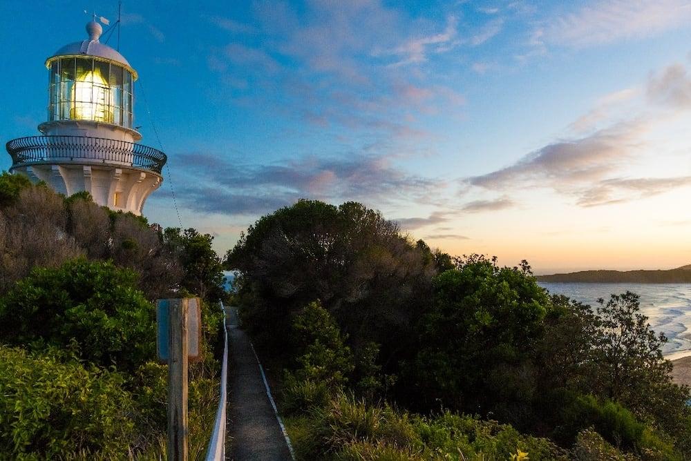 Sugarloaf Point lighthouse, Seal Rocks