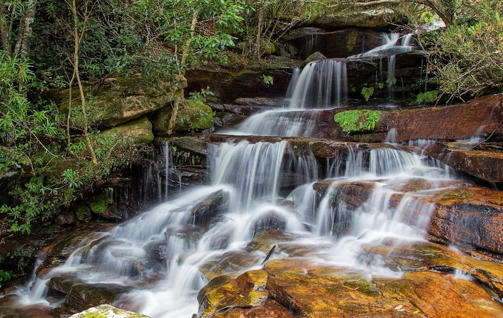 Waterfalls at Somersby Falls, Central Coast