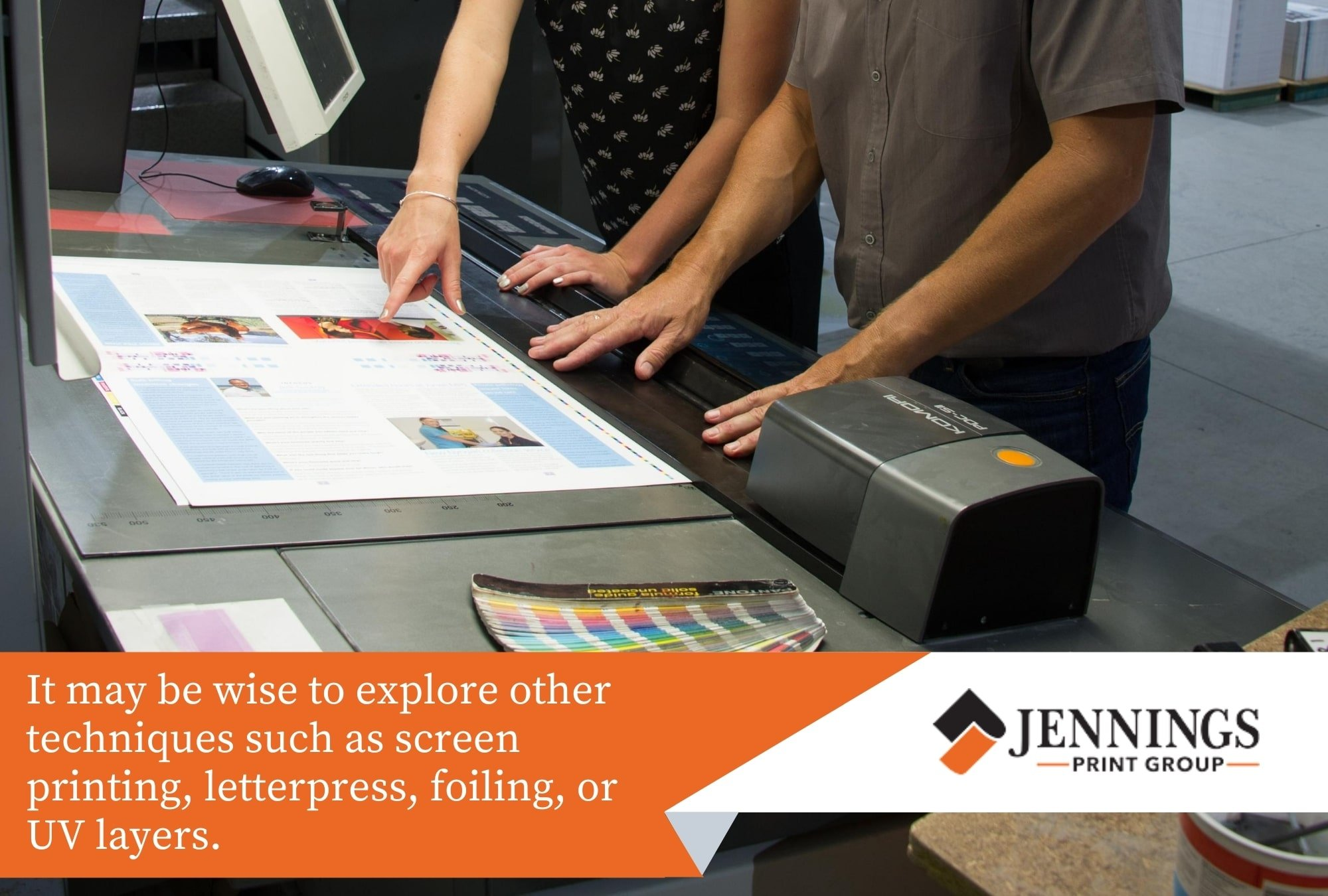 Explore different printing techniques.