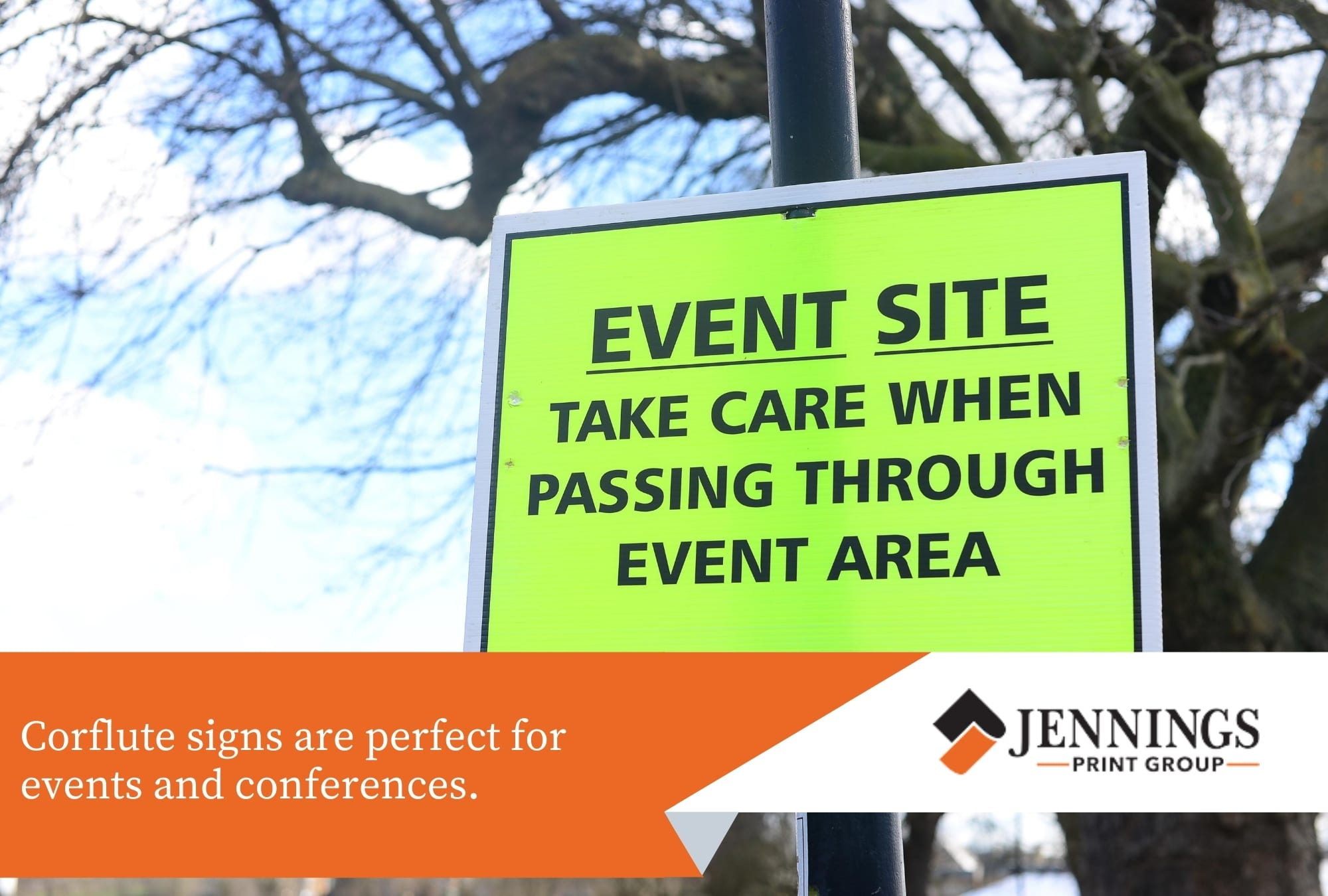 Signs for Newcastle Events and Conferences