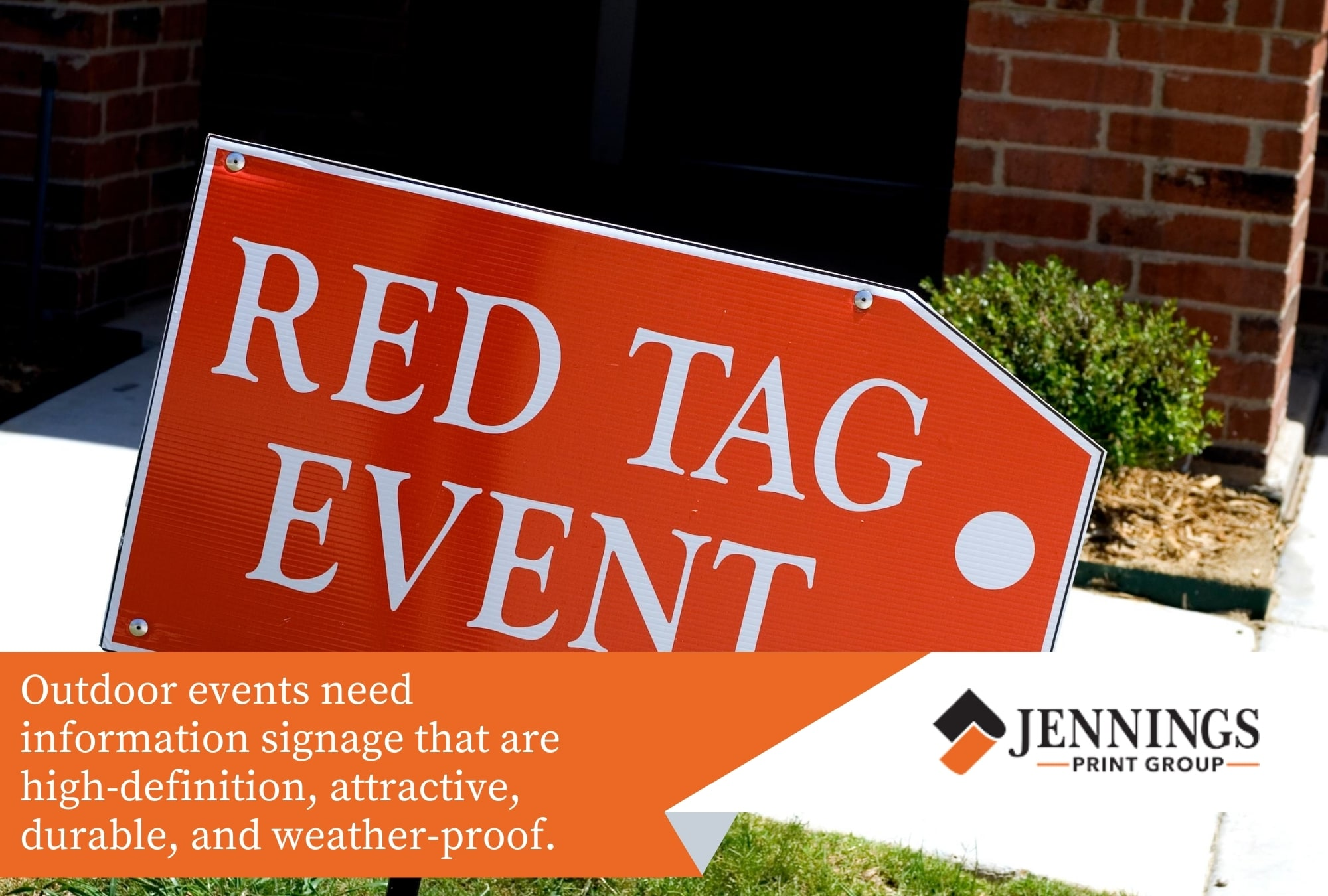 Signs for Outdoor Events