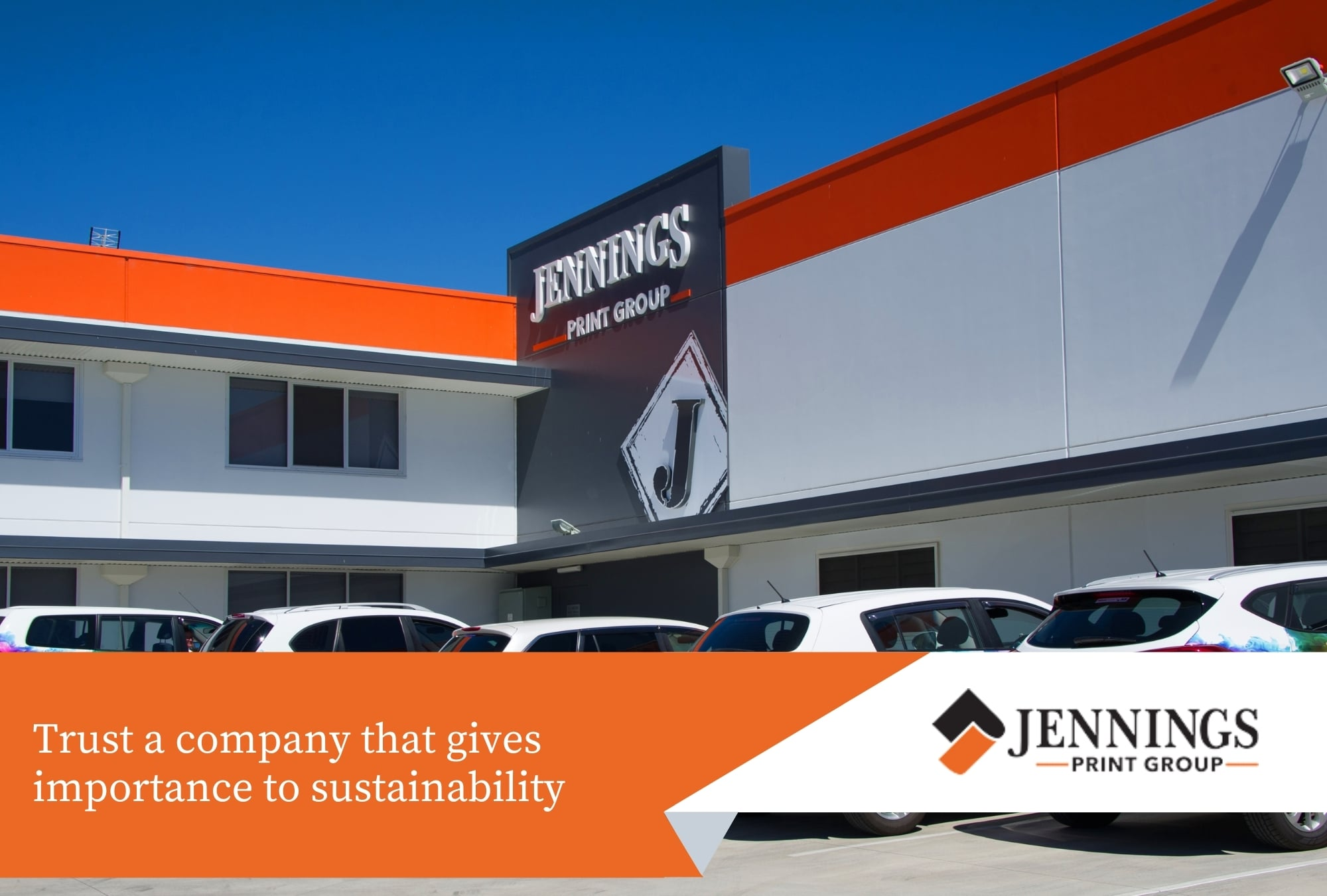 Trust a company that gives importance to sustainability