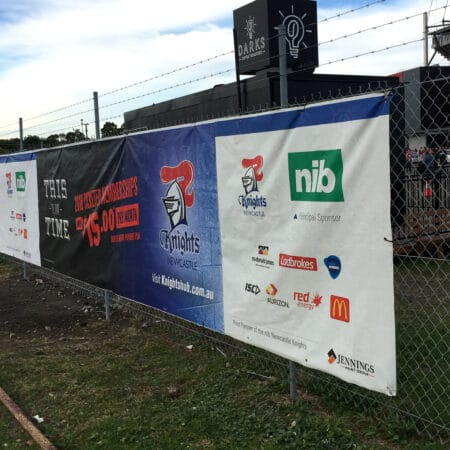 Banners / Fence Mesh -