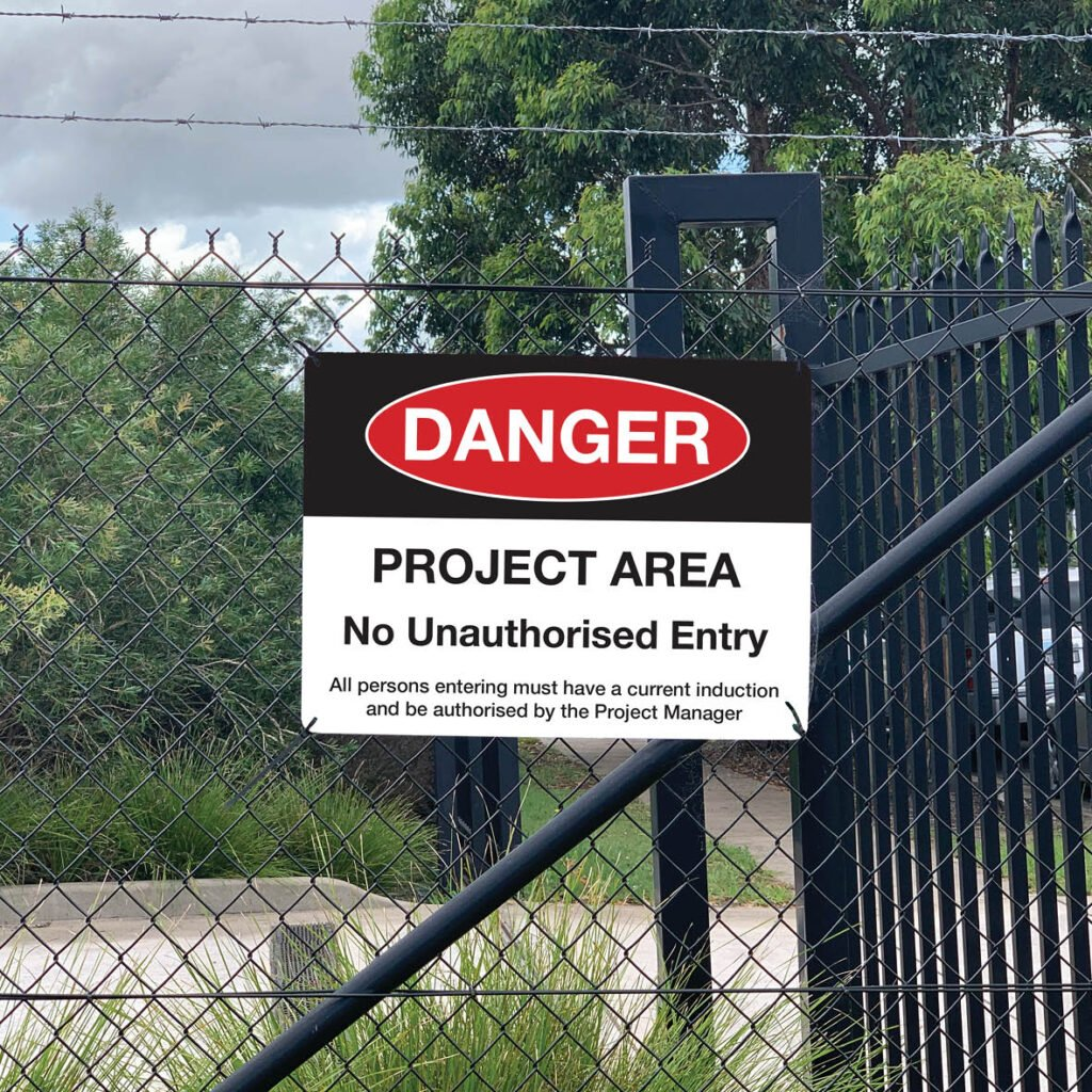 SITE SIGNAGE Safety Products | Jennings Print