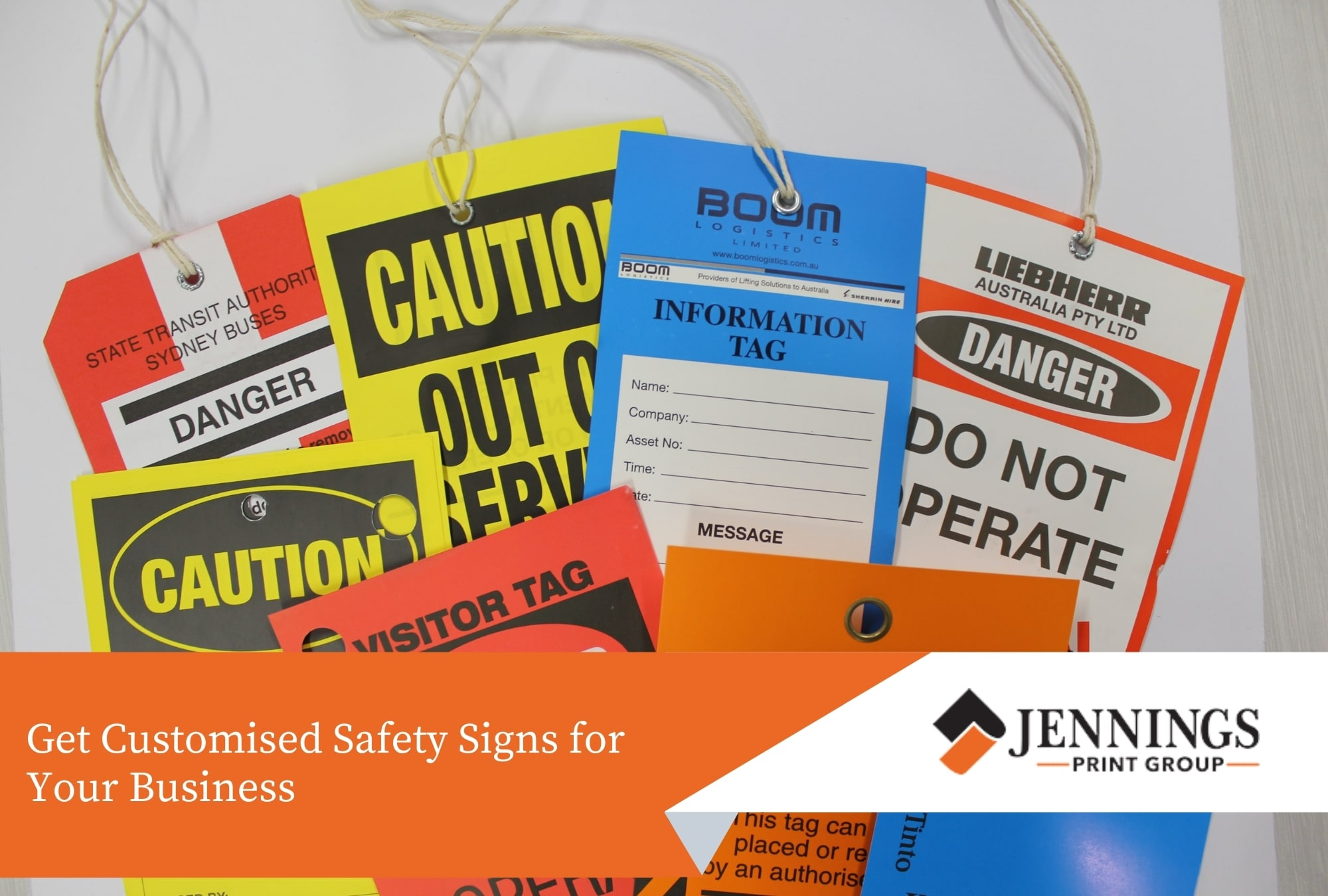 Get Customised Safety Signs for Your Business