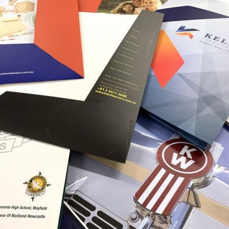 Presentation folders printed by jennings print