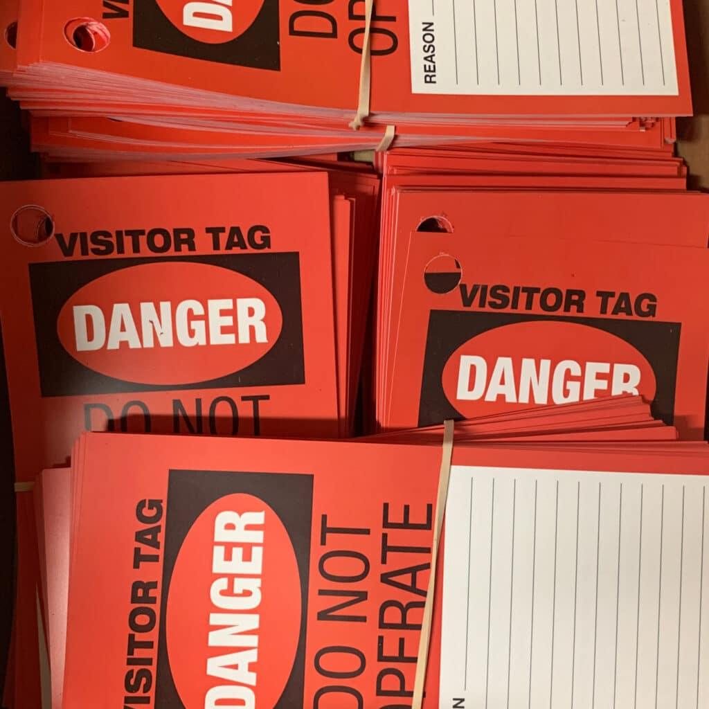 Danger Tags